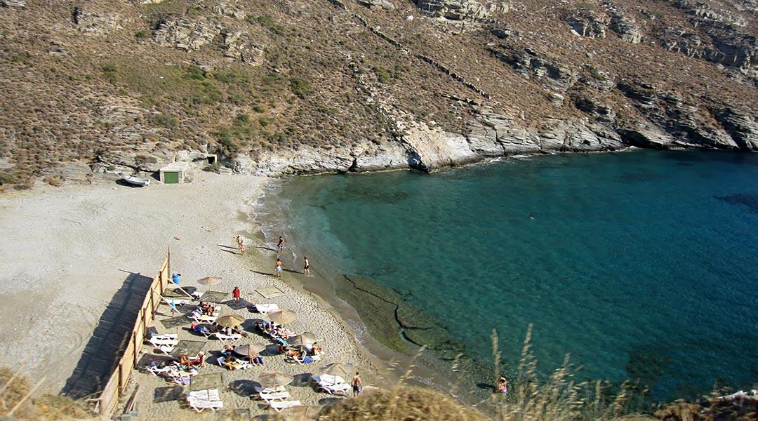 Apothikes beach, Andros Greece