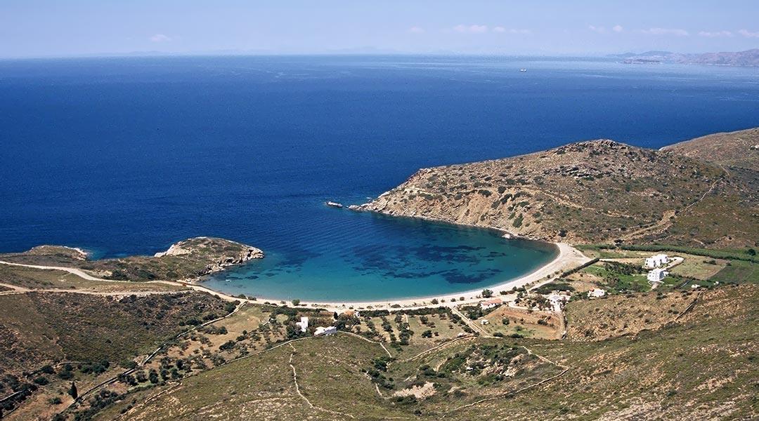 Fellos beach, Andros Greece